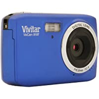 Vivitar VX137-BLU 10.1MP Digital Touch Screen Camera with 1.8-Inch LCD Screen - Body Only (Blue)