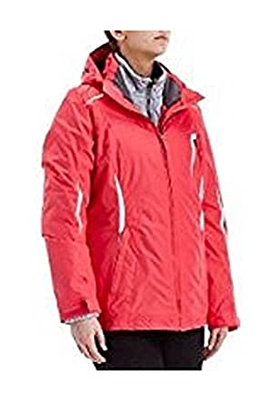 Zeroxposur Womens 3 In 1 Jacket Coral Jacket At Amazon