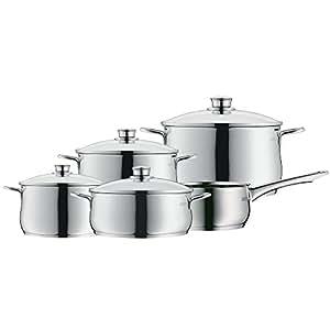 WMF Diadem Plus - Batería de cocina, 5 piezas