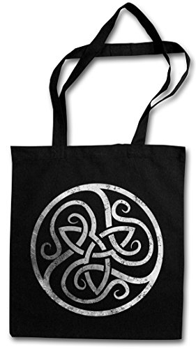 CELTIC CIRCLE Hipster Shopping Cotton Bag Cestas Bolsos Bolsas de la compra reutilizables