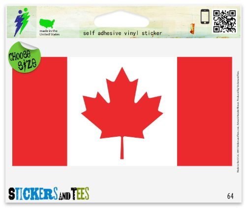 canada car sticker - 5