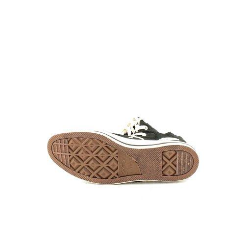 Converse Mandrin Taylor Tout Étoiles Xxhi Noir / Blanc Chaussures En Toile 1v708