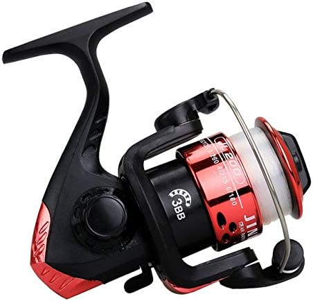 Fishing reel spinning wheel trolling with line speed G ratio 5.2:1