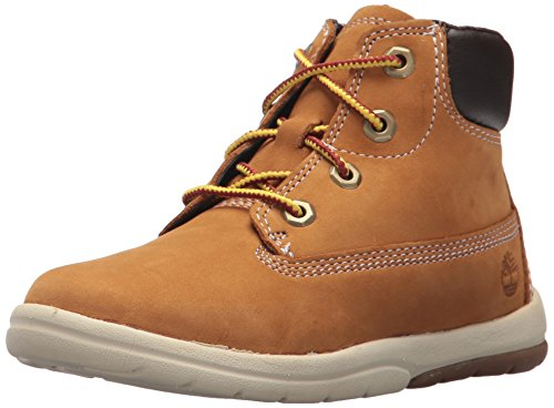 "Timberland Baby Toddle Tracks 6"" Boot Ankle, Wheat Nubuck 4 M US Toddler"
