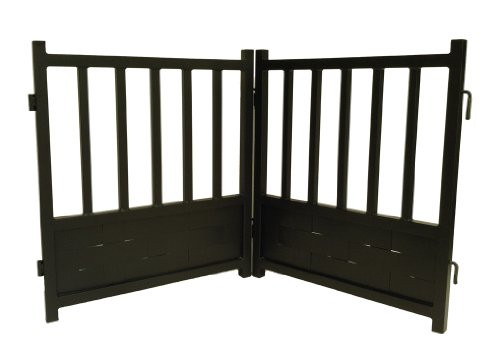 Royal Weave Free-Standing Dog Gate - Mocha