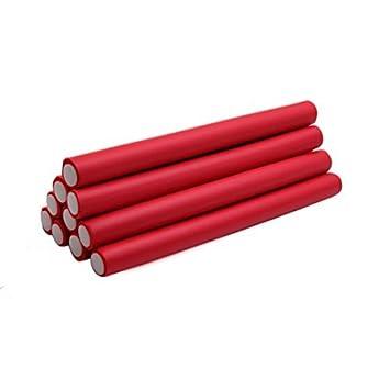 eDealMax 10 piezas DE 2 cm Rojo Dia Inicio de belleza bricolaje rizador de Los fabricantes