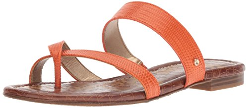 Sam Edelman Women's Bernice Slide Sandal, Tangelo, 8 M US by Sam Edelman