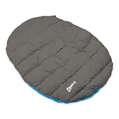 Chuckit! Travel Bed - Comfort on the Go - Blue/Gray - One Si