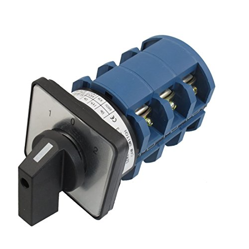 Positions 3NO+3NC Rotary Selector Changeover Switch ()