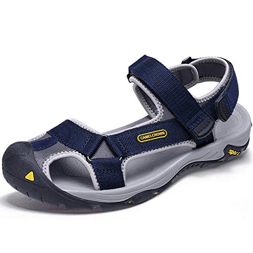 men covered slide sandals - 4