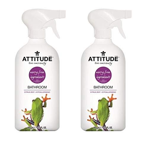 ATTITUDE Bathroom Cleaner - 27.1 oz (Pack of 2)