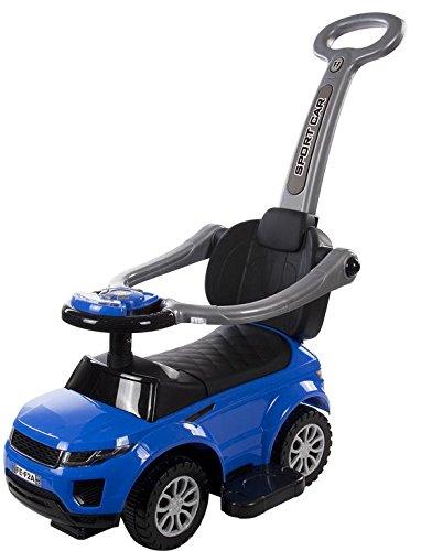 Rutschauto SPORT CAR DELUX KINDERFAHRZEUG Lauflernwagen ! NEU! (Blau) G&D Trade