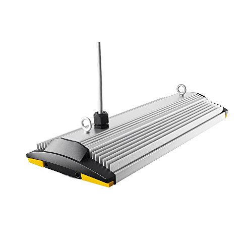 2 Ft. Anodized Aluminum Led Shop Light With Occupancy