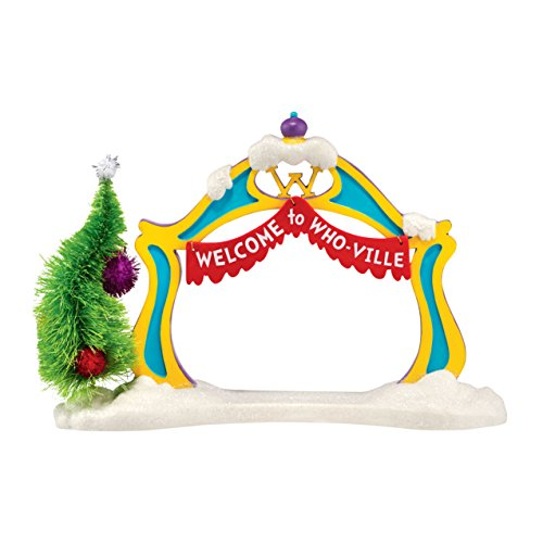 Department 56 Grinch Village Archway Accessory -