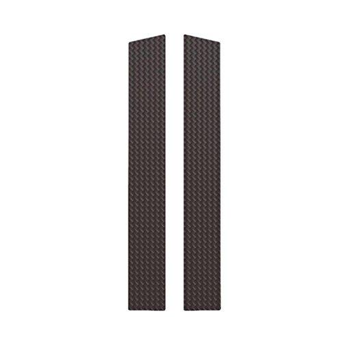 Ferreus Industries Carbon Fiber Pillar Post Trim Cover fits: 2006-2011 Honda Civic 2 Door Coupe PIL-140-CF ()