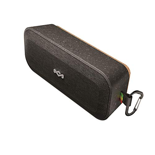 House of Marley No Bounds XL Portable Waterproof Wireless Bluetooth Speaker, Signature Black (House Of Marley Get Together Portable Bluetooth Speaker)