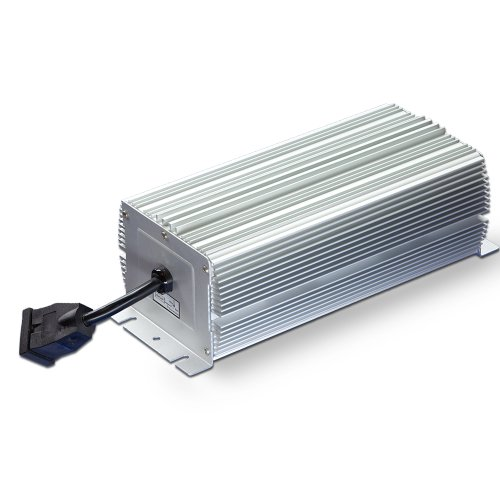 400 Watt WELTHINK MH/HPS Ultra Quiet Fanless Aluminum Heat Sink Digital Ballast, High Intensity Discharge, for Hydroponics Grow Light