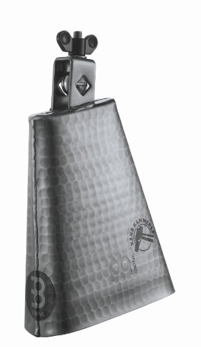 Meinl Hand Hammered Cowbell (Meinl Percussion STB625HH-S 6 1/4-Inch Hand Hammered Steel Cowbell)