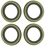 M-Parts 4 Double Lip Grease Seals For 5200-7000