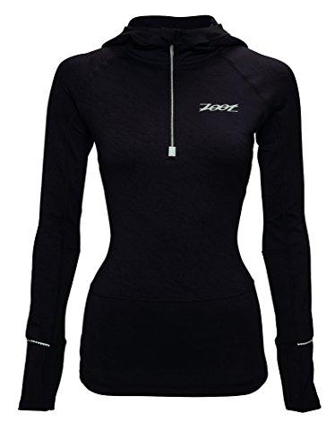 ZOOT Women's Ultra Megaheat Hoodie, Black, Large by Zoot