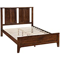 Zuo Portland Bed, Queen, Walnut