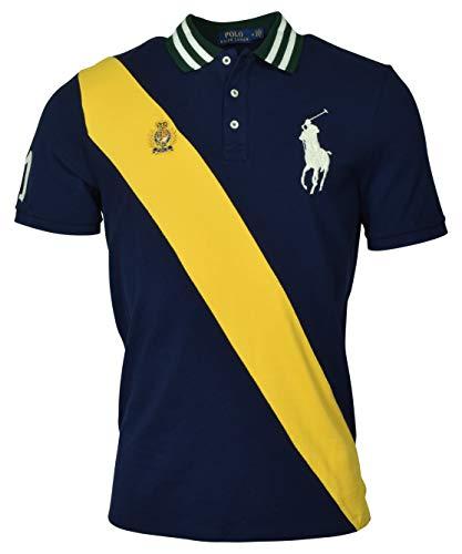 Polo Ralph Lauren Mens Classic Fit Mesh Big Pony Polo Shirt - L - - Ralph Classic Lauren Shirt Fit