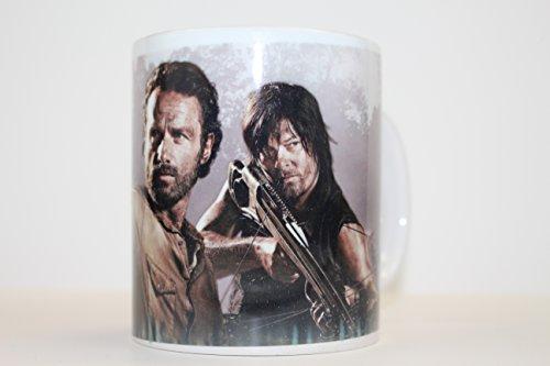 Walking Dead Rick Grimes Daryl 11oz Ceramic Coffee Mug