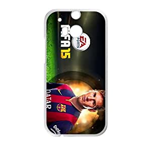 HTC One M8 Cell Phone Case White FIFA 15 17 LV7093917
