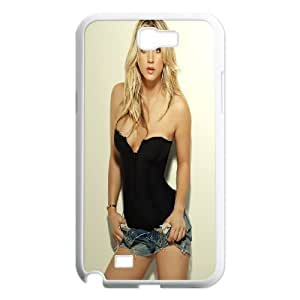 Samsung Galaxy N2 7100 Cell Phone Case White Beautiful Kaley Cuoco SP4140557