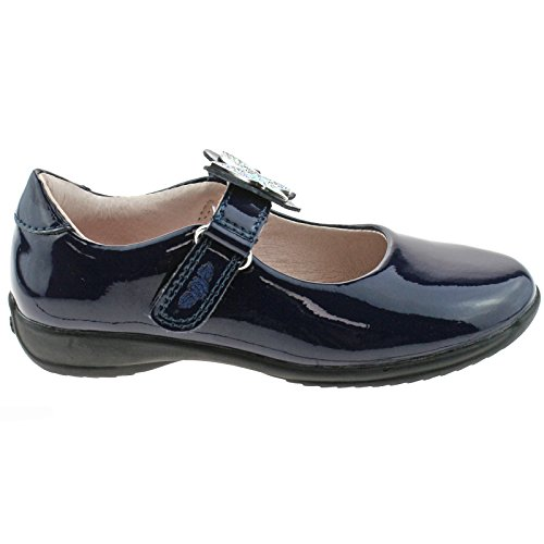 Lelli Kelly LK8305 (DE01) Angel Navy Blue Patent School Shoes F Fitting-31 (UK 12.5)