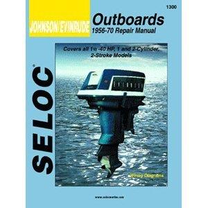 Seloc Johnson Evinrude Outboard Repair Manual 1-3 Cylinde...
