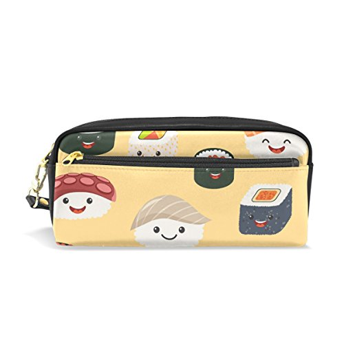 Mydaily mignon emoji Sushi Trousse Stylo Sac pochette Porte-monnaie Maquillage Sac
