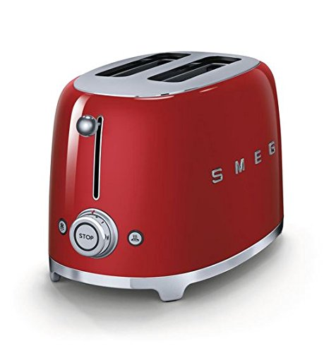 Smeg-TSF01RDUS-50s-Retro-Style-Aesthetic-2-Slice-Toaster-Red
