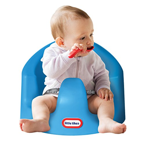 Little Tikes My First Seat Baby Infant Foam Floor Seat Sitting Support Chair, Blue by Little Tikes