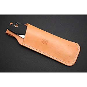 Review Outdoor Gear Custom Leather Sheath for Bacho Laplander (Silky Gomboy 210)