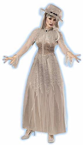 Forum Women's Victorian Ghost Costume, Multi, (100 Floors Halloween 34)