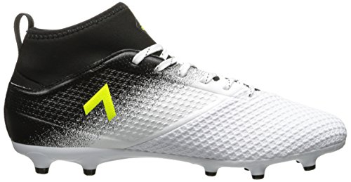 adidasACE 17.3 FG - Ace 17.3 Firm Ground Cleats da uomo White/Solar Yellow/Black