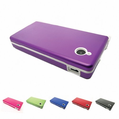 purple-nintendo-dsi-nds-i-ndsi-aluminum-metal-case-skin-protector-cover-free-screen-protectors-many-