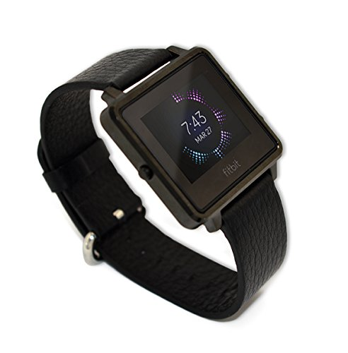 Kartice Luxury Leather Watch Fitbit