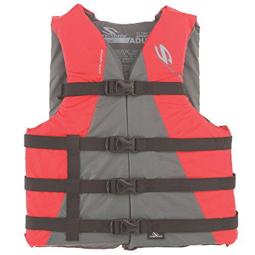 - Stearns Adult Watersport Classic Series Life Vest, Red