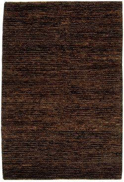 Brown Hand Knotted Wool - Safavieh Organica Collection ORG213A Hand-Knotted Brown Wool Runner (2'6