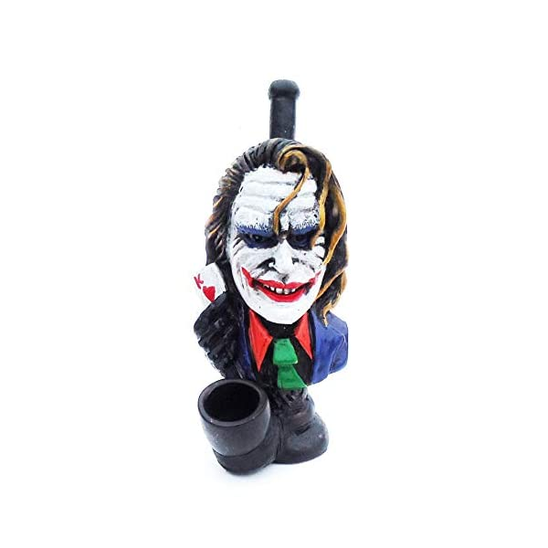 Novelty-Collectible-The-Joker-Figurine-Tobacco-Pipe