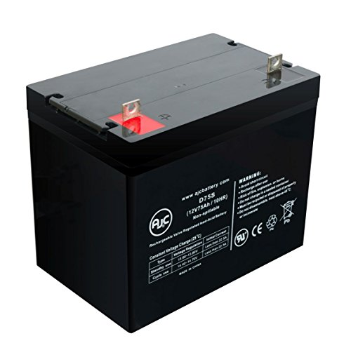 Freerider FR510GDX D 12V 75Ah Scooter Battery - This is an AJC Brand Replacement by AJC Battery