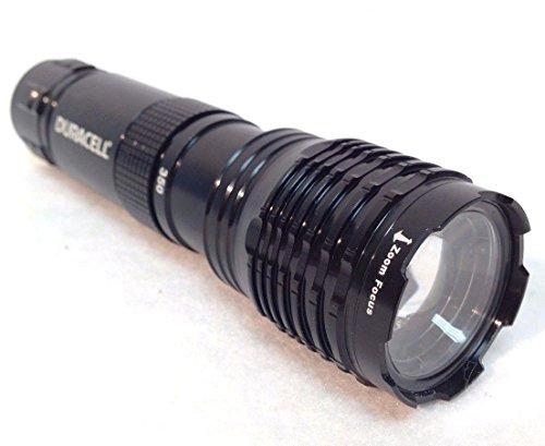 1 Black Duracell Durabeam Ultra 350 Lumens High-Intensity LED Tactical Flashlights - Black Flashlight Duracell