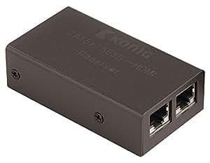 König KN-HDMIREP20 - Extensor HDMI (UTP, Full HD, HDCP), negro