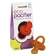 Orthodontic Natural Rubber Pacifier (Set of 3) Size: 6 months and up