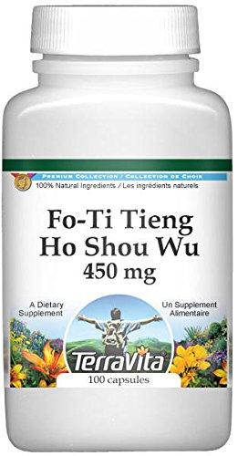 Fo-Ti Tieng - Ho Shou Wu - 450 mg (100 Capsules, ZIN: 511035) - 2 Pack