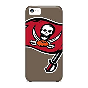Great Cell-phone Hard Cover For Iphone 5c (Qec12631xeqU) Provide Private Custom Stylish Tampa Bay Buccaneers Pattern