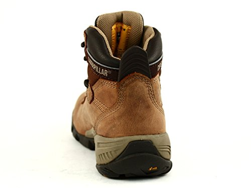 CT Women's Boot Nitrogen Work Caterpillar Brown Waterproof 7qA1q6