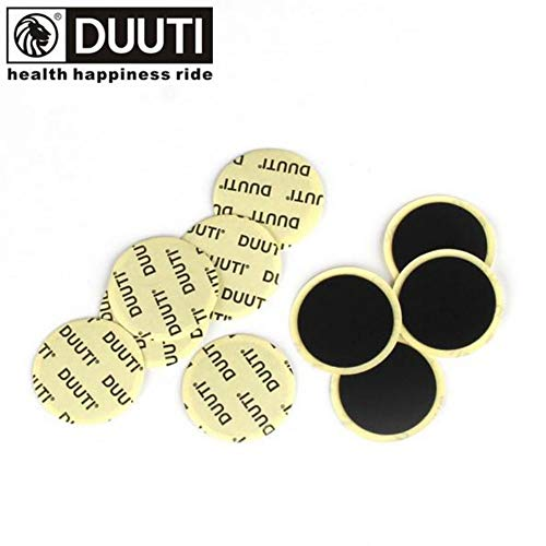 DUUTI 10PCS Cycling Mountain/Road Bike Tyre Puncture Fast Repair Tools Black Bicycle Inner Tire Patches